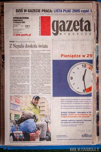 Artykuł z Gazety Wyborczej