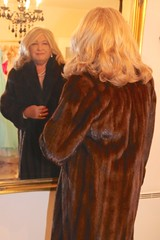 With very special thanks to crossdressing-service.com (Highclassfurlover) Tags: fur coat woman mink blonde elegant