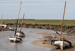 Blakeney 3 (D G Butcher) Tags: boats norfolk moorings blakeney