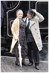 (Capt' Gorgeous) Tags: southwales train costume tank engine railway steam event ww2 gala gwr blaenavon pontypoolblaenavonrailway