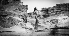www.glam.vision - proudly ( Peppedam -www.glam.vision) Tags: wwwglamvision giuseppedamico nikonportrait nude sensual shooting sicily egadi favignana bw passion outdoor woman
