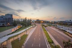 DSC03280-Edit_LR (teckhengwang) Tags: sports hub kallang singapore national stadium landscape sunrise icon sony a77mkii a77m2 a77mk2 a77mii tamron 1024mm