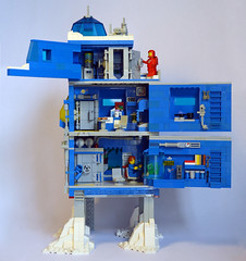 Ice Planet Research Complex 06 (IamKritch) Tags: space classicspace science base neoclassicspace lego