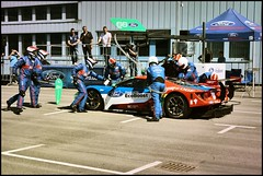 Boxenstopp 3 (Mickas Photografie) Tags: sony alpha 6000 ilce mickas photos mickasphotos ford performance gt lemans ecoboost chip ganassi racing team werke ag kln cologne niehl boxenstopp pitstop 66 gte pro stefan mcke