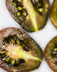 Sliced tomatoes. (kamakirii) Tags: tomatoes macro abstract canon 5d mk3