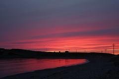 Sunset, Cow Head, Newfoundland, Canada (alex_7719) Tags: sunset cowhead newfoundland canada shore landscape sky seaside coast dusk grosmorne grosmornenationalpark atlantic water red