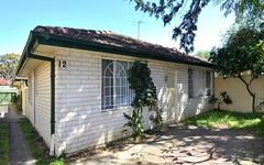 1/12 Nilson Avenue, Hillsdale NSW