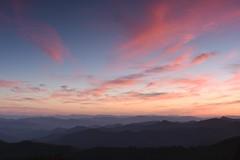 Sunset along the Blue Ridge Parkway, North Carolina (jkrieger84) Tags: landscape nature nikon d500 sunset mountains clouds blueridgeparkway