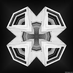 Impossible Symmetric Architecture 2 (Erik Schepers) Tags: impossible symmetric architecture symmetry buildings edit bw creative