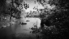 boating (vfrgk) Tags: boating boats centralpark nyc people nature urbannature urbanlife cityscape skyscrapers monochrome blackandwhite bw urbanfragment water calmness relaxation tranquility serene manhattan landscape couples lake treeshade