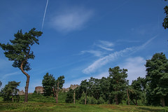 Beeston Castle - 1 (nican45) Tags: 17july2016 17072016 18270 18270mm 18270mmf3563diiivcpzd 2016 beeston canon cheshire cheshiremerseyside dslr eos70d englishheritage july middleages slr tamron blue castle fortification medieval sky tree