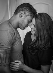 Adam&Kerri B&W #1 (ZS Channel Drive) Tags: couples love romance kissing loving endearing romantic headshots blackandwhite bw portraits streetphotography street engagement hotlights modelling cannon5d cannon 50mm shallowdepthoffield