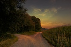 Choose your way (zoey.s.franka) Tags: road sunset way
