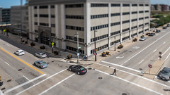 Summer in the Itty-Bitty-City (Sharky.pics) Tags: urban city wisconsin tiltshift july cityscape 2016 miniature milwaukee downtown unitedstates us