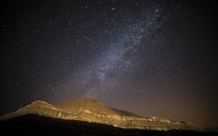 Perseid Meteor Shower 2016 (Alex Savenok) Tags: negev desert perseids meteor shower longexposure long exposure israel samyang14mm nikon d610 milkyway stars night sky nightsky