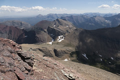 "View from the top of Mt. Siyeh • <a style=""font-size:0.8em;"" href=""http://www.flickr.com/photos/63501323@N07/28743004125/"" target=""_blank"">View on Flickr</a>"