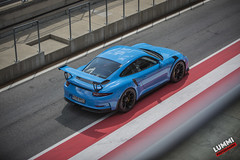 Riviera blue (Lummi Photography) Tags: porsche gt3 rs gt3rs riviera blue car cars auto automotive automobile trackday tracktool tracktoy redbull redbullring spielberg