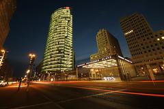 Berlin Potsdamer Platz (PeskyMesky) Tags: berlin potsdamerplatz nightphotography lighttrail germany flickr longexposure le canon canoneos500d
