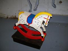 OH Bellaire - Toy & Plastic Brick Museum 149 (scottamus) Tags: bellaire ohio belmontcounty toyplasticbrickmuseum lego statue sculpture roadside attraction