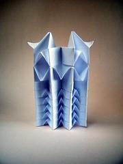 Pixel Owl (Rui.Roda) Tags: origami papiroflexia papierfalten pixel