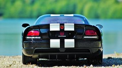 Dodge Viper SRT 10 Coupe Backside (obscure.atmosphere) Tags: deutschland germany hamburg sommer summer verano ete   modellauto    car spielzeug   toy toys 118 juguetes modelo jouets dodge chrysler viper us usa american muscle auto automobile supercar sportcar hypercar   exotic automobil sportwagen coche carro automovil deportivo voiture sport sonnenschein sonnenlicht licht light ligero lumiere   sunlight sunshine sun sonne   sunny sonnig design snake schlange diecast modele model modell art exposure lake see srt 10