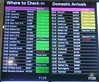 Departures and  Domestic Arrivals at Edinburgh Airport.