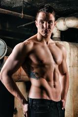 Brian (Violentz) Tags: shirtless portrait man male guy model skin torso bodybuilder fitness abs trainer physique patricklentzphotography
