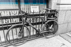 What sign? (tootdood) Tags: street blackandwhite bike sign manchester cycle what tarriff canon70d