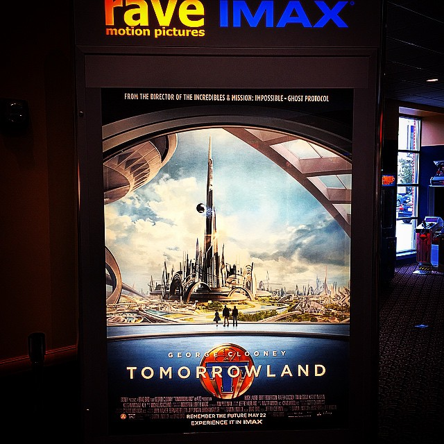 #Tomorrowland on @imax.movies @cinemark