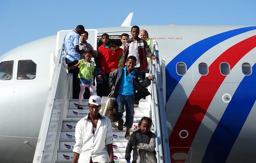 Evacuating Somalis from Yemen