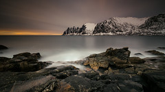 8 Minutes of Senja - Tungeneset (christian.denger) Tags: seascape norway canon landscape eos soft long exposure 09 lee grad senja 1635 okshornan 1635mmf4l