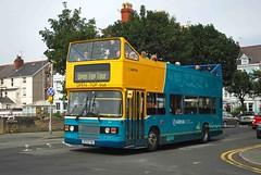 D170FYM Llandudno 16/08/10 (MCW1987) Tags: buses wales open top cymru rhyl leyland olympian arriva ecw 3996 d170fym