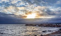 Cae el Sol (alejandrobibiloni) Tags: sunset uruguay montevideo rambla
