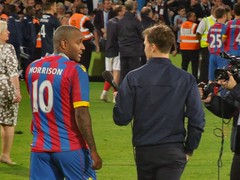 Clinton Morrison at Selhurst Park (Paul-M-Wright) Tags: park uk london football julian crystal 26 dundee clinton soccer may palace match morrison fc versus testimonial 2015 cpfc selhurst speroni