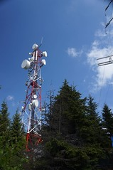 Antene pe varful Cozia