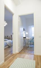 Visningslägenhet - hall intill sovrum