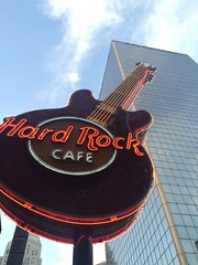 Louisville, Kentucky (cliffordswoape) Tags: city sky music guitar kentucky louisville hardrockcafe signsoflife 4thstreetlive steelandsky