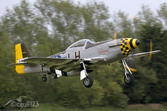 """P51 Mustang """"Janie"""" (cgull123) Tags: uk b fighter jane mary jackson queen east sally airshow just b17 lancaster ww2 mustang bomber dogfight dakota raf airfield janie p51 kirkby 3x m36 nx611"""