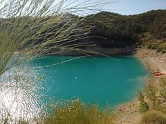 Un placer para la vista (aliciap.clausell) Tags: espaa andalucia granada piraguismo deporte aventura verano vacaciones paisaje pantano embalse agua water