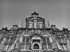 Stadhuis (csalirod) Tags: bnw bw building old municipality