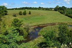 Kilmarnock-Irvine Cycle Path. Meandering Stream. (Phineas Redux) Tags: ayrshirescenes kilmarnockirvinecyclepath cyclepaths ayrshire scotland