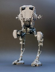 AT-ST v2.2, front view (GolPlaysWithLego) Tags: lego moc atst walker starwars