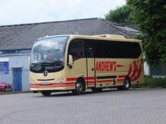 Andrews FJ15EJC Matlock (Guy Arab UF) Tags: bus buses mercedes benz coach andrews derbyshire independent tideswell cheetah xl matlock atego plaxton 1218l fj15ejc
