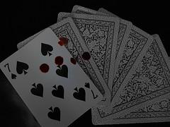 A vida  um jogo. (ndreia) Tags: bw portugal cards pb numbers athome cartas emcasa nmeros 2016 pvoadevarzim sonydschx200v