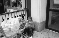 (vote4blake) Tags: film 35mm fuji acros acros100 neopan blackandwhite buy megapixels save leica m7 bw carl zeiss cbiogon 3528 rangefinder iso 100 slow down shoot more guns new york city nyc street photography homeless needy man chinatown chinese vendor fruits
