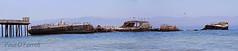 S.S. Palo Alto (ofarrl) Tags: california panorama usa santacruz abandoned ship montereybay seacliff pacificocean photomerge westcoast derelict aptos ferroconcrete sspaloalto