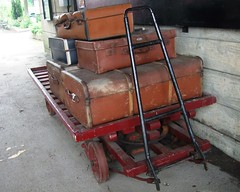 Midland Railway, Butterley, nr Ripley, Derbyshire (j a thorpe) Tags: derbyshire ripley butterley railway steam luggage