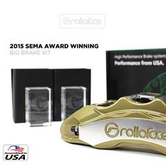 2015 SEMA REWARD WINNING (Rolloface 7) Tags: brakes sema bbk calipers bigbrakekit brakerotors assembledintheusa rolloface
