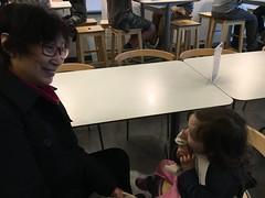 Ice cream break at Ikea (chrissthegirl) Tags: sophie popo