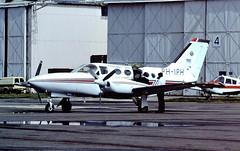 PH-IPH Freeway Air CVT 22-08-86 (cvtperson) Tags: phiph cessna 421 golden eagle freeway air coventry cvt egbe